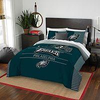 Philadelphia Eagles Draft Full/Queen Comforter Set by Northwest