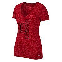 Women's adidas Louisville Cardinals Vertical Tee
