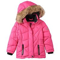 Girls 4-16 Weatherkids Quilted Heavyweight Bubble Jacket