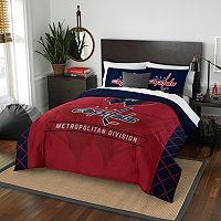 Washington Capitals Draft Full/Queen Comforter Set by Northwest