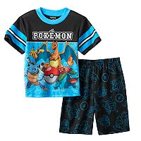Boys 4-10 Pokemon 2-Piece Pajama Set