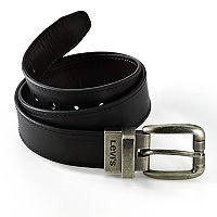Levi's® 28-mm Reversible Faux-Leather Belt - Boys