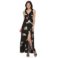 Juniors' Candie's® Floral Maxi Dress