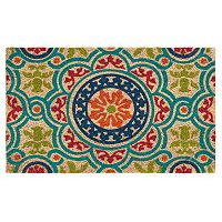 Mohawk® Home Heirloom Medallion Coir Doormat - 18'' x 30''