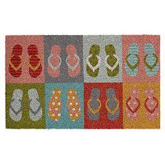 Mohawk Home Flip Flop Family Coir Doormat 18'' x 30''