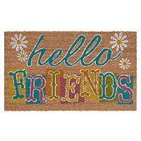 Mohawk® Home Summer Friends ''Hello'' Coir Doormat - 18'' x 30''