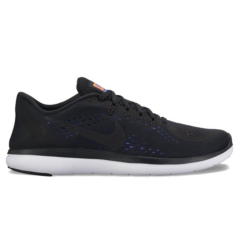 Nike Flex 2017 RN Men's Running Shoes, Size: 9, Grey (Charcoal) thumbnail