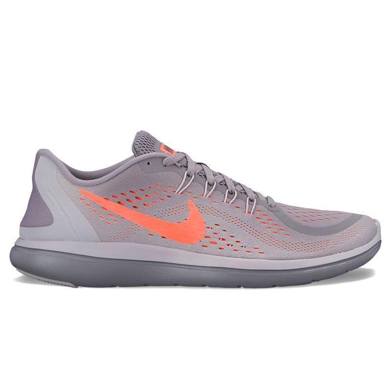 Nike Flex 2017 RN Men's Running Shoes, Size: 8, Grey (Charcoal) thumbnail