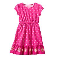Girls 4-10 Jumping Beans® Foil Tiered Dress