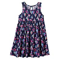Toddler Girl Jumping Beans® Print Racerback Babydoll Dress