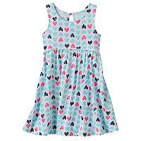Toddler Girl Jumping Beans® Print Racerback Babydoll Dress