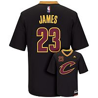 Men's adidas Cleveland Cavaliers LeBron James NBA Replica Jersey