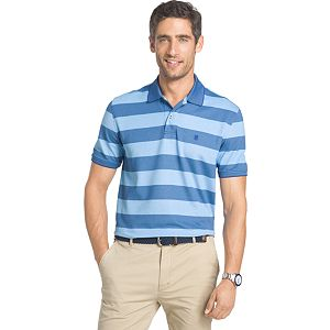Men's IZOD Advantage Classic-Fit Rugby-Striped Performance Polo