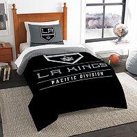Los Angeles Kings Draft Twin Comforter Set by Northwest