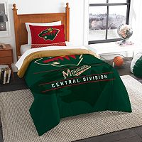 Minnesota Wild Draft Twin Comforter Set by Northwest