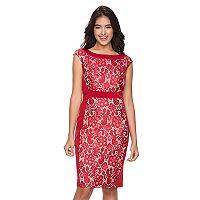Women's Jax Floral Lace Sheath Dress