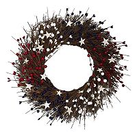 Celebrate Americana Together Faux Berry Wreath
