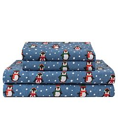 Click here to buy Grand Collection Cozy Nights Flannel Sheet Set.