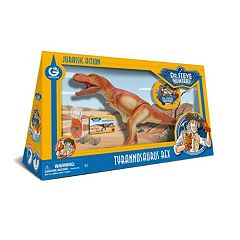 Geoworld Dr. Steve Hunters Large Jurassic Action T. Rex Dinosaur by