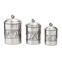 Old Dutch 3-pc. Apple Canister Set