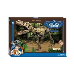 Geoworld Dr. Steve Hunters Paleo Expeditions Kit T. Rex Dinosaur by