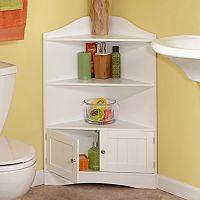RiverRidge Home Ashland Storage Corner Cabinet