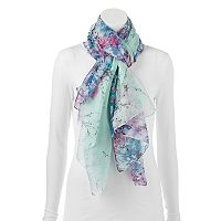 Apt. 9® Cherry Blossoms Oblong Wrap Scarf