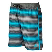 Men's adidas Energy Striped Microfiber Volley Swim Trunks
