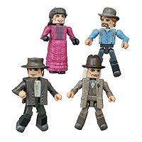 Back to the Future Minimates 1885 Box Set by Diamond Select Toys