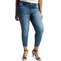 Juniors' Plus Size Crave Slimming Skinny Jeans