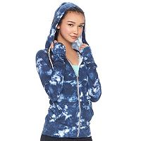 Juniors' SO® Colorblock Zip Up Hoodie