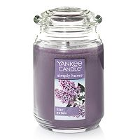 Yankee Candle simply home Lilac Petals Large Jar Candle