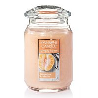 Yankee Candle simply home Tangerine & Vanilla Large Candle Jar