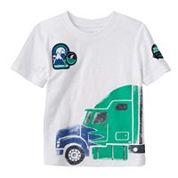 Toddler Boy Jumping Beans® Slubbed Semitruck Graphic Tee