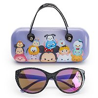 Disney's Tsum Tsum Girls 4-6x Minnie Mouse, Alice & Eeyore Sunglasses & Case Set