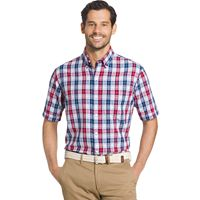 Men's Arrow Classic-Fit Plaid Button-Down Shirt