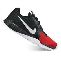 Nike Prime Iron DF Men's Cross-Training Shoes (Black/University Red/Anthracite/White)
