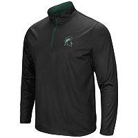 Men's Campus Heritage Michigan State Spartans Quarter-Zip Windshirt