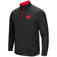 Men's Campus Heritage Wisconsin Badgers Quarter-Zip Windshirt