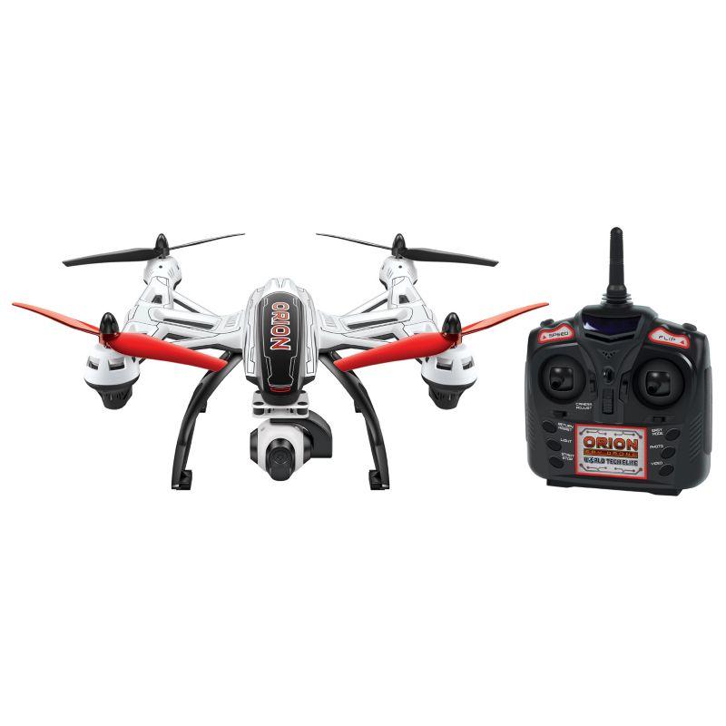 Elite Orion HD 2.4GHz 4.5CH RC Camera Drone by World Tech Toys, White thumbnail