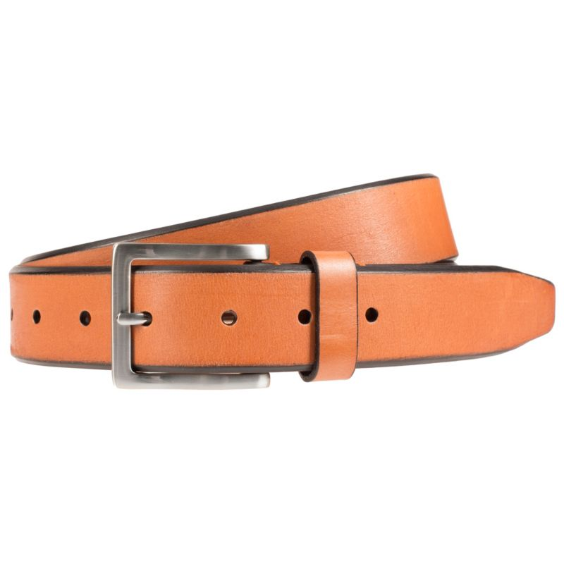 Men's Lee Beveled Edge Belt, Size: 34, Lt Brown thumbnail