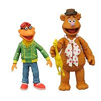 Muppets Select Series 1 Fozzie & Scooter Action Figure Set by Diamond Select Toys