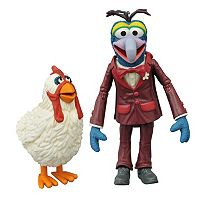 Muppets Select Series 1 Gonzo & Camilla Action Figure Set by Diamond Select Toys
