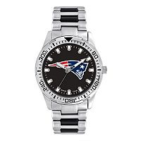Men's Game Time New England Patriots Heavy Hitter Watch