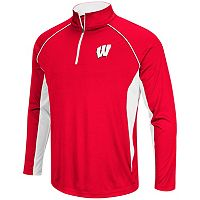 Men's Campus Heritage Wisconsin Badgers Airstream Quarter-Zip Top