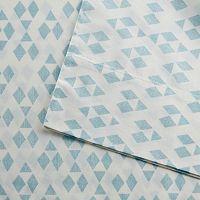 Urban Habitat Diamond Printed Cotton Sheet Set
