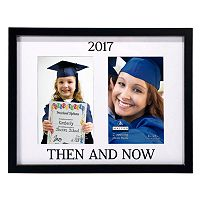 Malden ''Then And Now'' 2-Opening 4'' x 6'' Frame