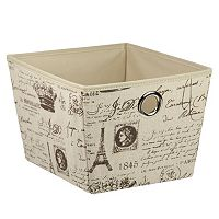 Home Basics Paris Storage Box