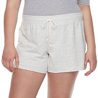 Juniors' Plus Size SO® French Terry Shorts
