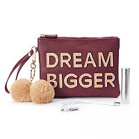 Under One Sky Pom Pom Smartphone Charging Wristlet